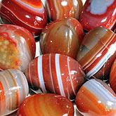 agate banded red