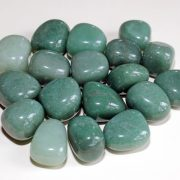 Highly polished Green Aventurine tumble stone size 2-3 cm.