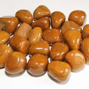 Highly polished Yellow Jasper tumble stone size 2-3 cm.