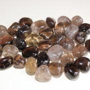 Highly polished Smokey Quartz tumble stone size 2-3 cm.