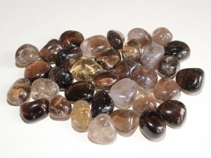 Highly polished Smokey Quartz tumble stone size 2-3 cm.