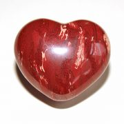Highly polished Snakeskin Jasper Heart approx 45 mm.