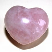 Highly polished Rose Quartz Heart approx 45 mm.