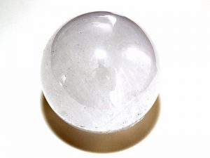 Highly polished Quartz sphere approximate size 50 mm.