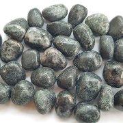 Highly polished Black Apatite stone size 20-30 mm.