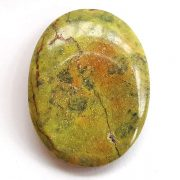 Highly polished Atlantisite thumb stone.
