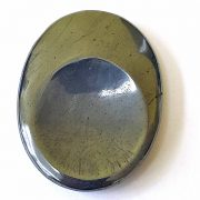 Highly polished Hematite thumb stone.