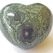 Highly polished Kambaba Jasper Heart approx 45 mm.