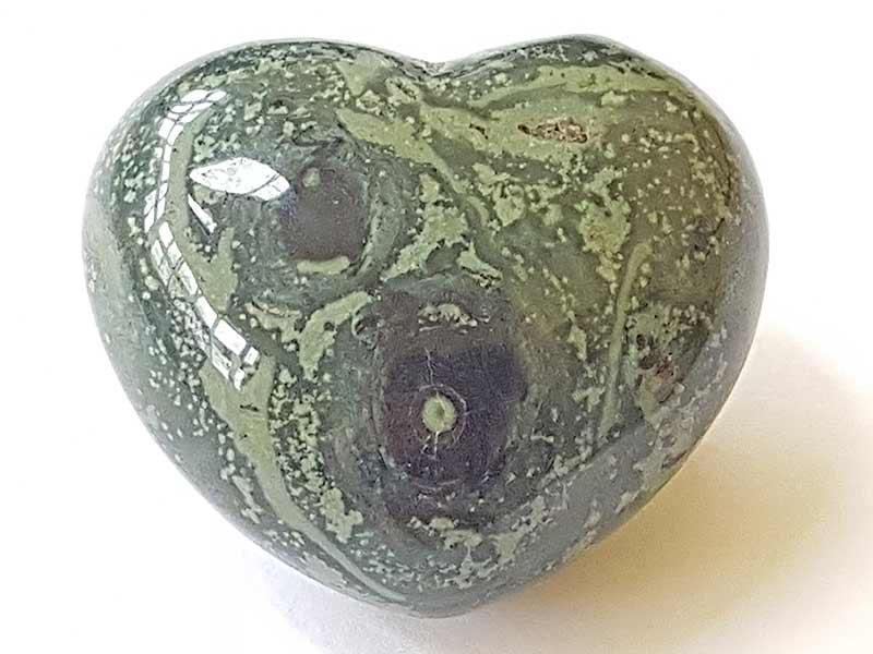 Highly polished Kambaba Jasper Heart approx 45 mm.