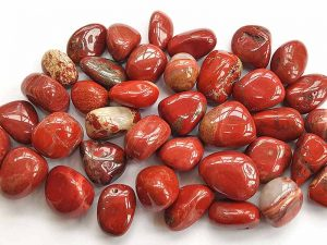 Highly polished Red Jasper stone size 20-30 mm.