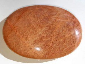 Highly polished Moonstone palm stone 70 x 40 mm.
