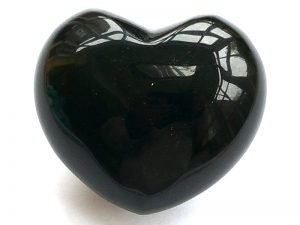 Highly polished Obsidian Sheen Heart approx 45 mm. These hearts are perfect for a gift! There are purple velvet pouches or organza bags you can purchase to pop them into for the finishing touch. Being a natural product these stones may have natural blemishes and vary in colour and banding. www.naturalhealingshop.co.uk based in Nuneaton for crystals, spiritual healing, meditation, relaxation, spiritual development,workshops.