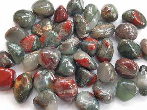 Highly polished Seftonite tumble stone size 20-30 mm.