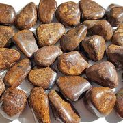 Highly polished Bronzite tumble stone size 20-30 mm.
