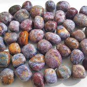 Highly polished Pietersite tumble stone size 20-30 mm.