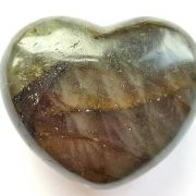 Highly polished Labradorite Heart approx 45 mm. www.naturalhealingshop.co.uk based in Nuneaton for crystals, spiritual healing, meditation, relaxation, spiritual development,workshops.