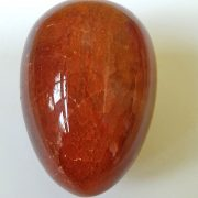 Highly polished Fire Agate egg approx height 45 mm. www.naturalhealingshop.co.uk based in Nuneaton for crystals, spiritual healing, meditation, relaxation, spiritual development,workshops.