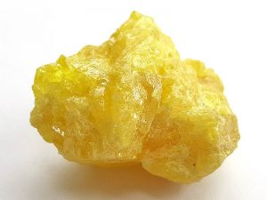 Sulphur approximately 35 x 25 mm Being a natural product the crystal may have natural blemishes and vary in colour. www.naturalhealingshop.co.uk based in Nuneaton for crystals, spiritual healing, meditation, relaxation, spiritual development,workshops.