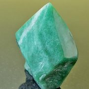 Highly polished Aventurine Green Point approximate height 80 mm. Being a natural product this crystal may have natural blemishes and vary in colour. www.naturalhealingshop.co.uk based in Nuneaton for crystals, spiritual healing, meditation, relaxation, spiritual development,workshops.