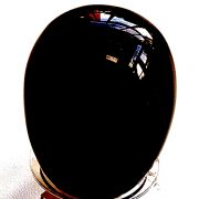 Highly polished Obsidian egg approximate height 45 mm. Beautiful to collect or hold and meditate with. Being a natural product these stones may have natural blemishes and vary in colour and banding. www.naturalhealingshop.co.uk based in Nuneaton for crystals, spiritual healing, meditation, relaxation, spiritual development,workshops.