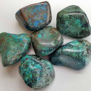 Highly polished Shattuckite size 30 - 40 mm. Being a natural product this crystal may have natural blemishes and vary in colour. www.naturalhealingshop.co.uk based in Nuneaton for crystals, spiritual healing, meditation, relaxation, spiritual development,workshops.