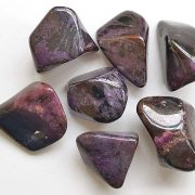 Highly polished Sugilite grade AA tumble stone size 20 to 25 mm. Being a natural product this crystal may have natural blemishes and vary in colour. www.naturalhealingshop.co.uk based in Nuneaton for crystals, spiritual healing, meditation, relaxation, spiritual development,workshops.