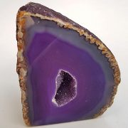 Polished Agate Geode 80 x 60 mm.