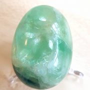 Highly polished Fluorite crystal eggs approximate height 45 mm. Beautiful to collect or hold and meditate with. Being a natural product these stones may have natural blemishes and vary in colour and banding. www.naturalhealingshop.co.uk based in Nuneaton for crystals, spiritual healing, meditation, relaxation, spiritual development,workshops.