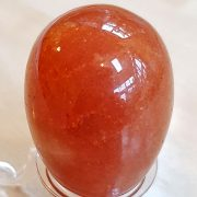 Highly polished Red Aventurine egg approximate height 45 mm. Beautiful to collect or hold and meditate with. Being a natural product these stones may have natural blemishes and vary in colour and banding. www.naturalhealingshop.co.uk based in Nuneaton for crystals, spiritual healing, meditation, relaxation, spiritual development,workshops.