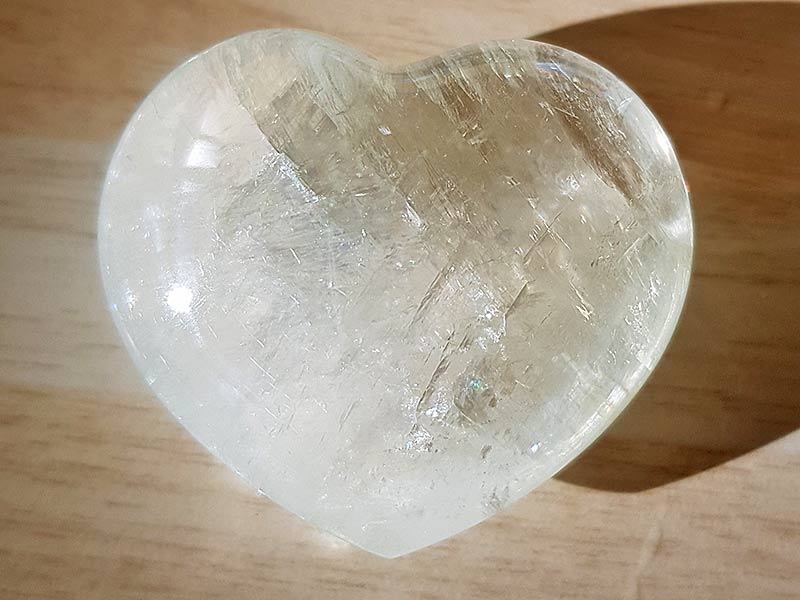 Highly polished Honey Calcite Heart approx 45 mm. www.naturalhealingshop.co.uk based in Nuneaton for crystals, spiritual healing, meditation, relaxation, spiritual development,workshops.