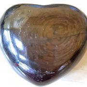 Highly polished Hypersthene Heart approx 45 mm. www.naturalhealingshop.co.uk based in Nuneaton for crystals, spiritual healing, meditation, relaxation, spiritual development,workshops.