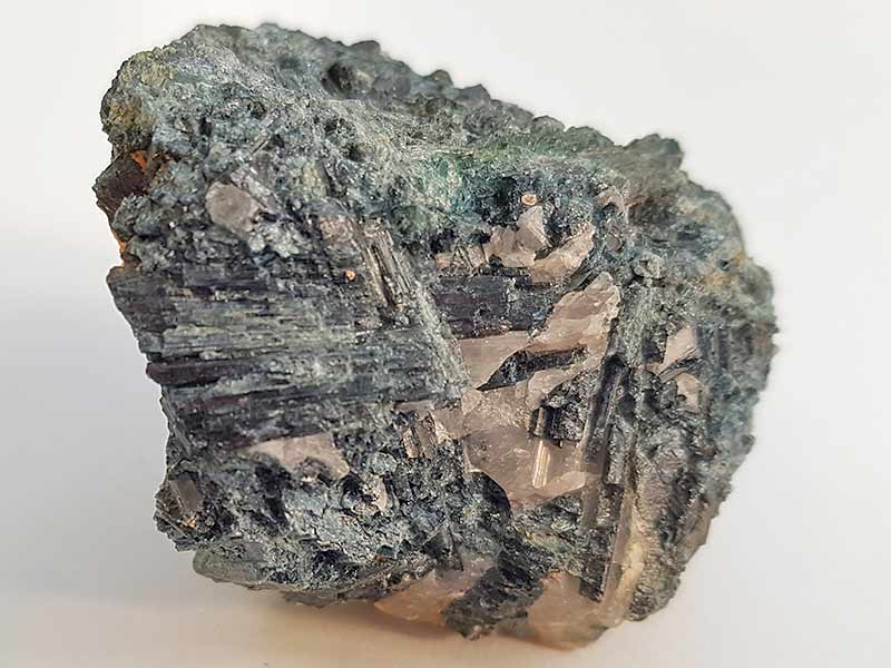 Tourmaline Blue Cap approx size 45 x 35 mm Being a natural product this crystal may have natural blemishes. www.naturalhealingshop.co.uk based in Nuneaton for crystals, spiritual healing, meditation, relaxation, spiritual development,workshops.