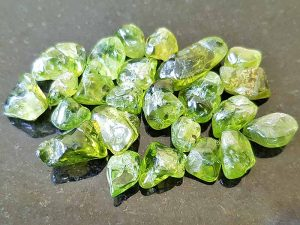 Polished Peridot sizes approx 5 to 10 mm. Being a natural product these stones may have natural blemishes and vary in colour. www.naturalhealingshop.co.uk based in Nuneaton for crystals, spiritual healing, meditation, relaxation, spiritual development,workshops.