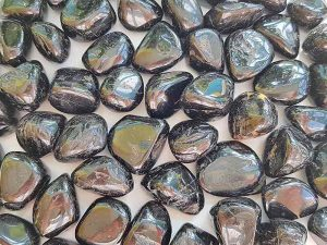 Highly polished Tourmaline stone size 20-30 mm. Being a natural product these stones may have natural blemishes and vary in colour and banding. www.naturalhealingshop.co.uk based in Nuneaton for crystals, spiritual healing, meditation, relaxation, spiritual development,workshops.