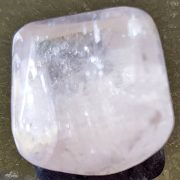Kunzite polished approx size 20 x 20 mm www.naturalhealingshop.co.uk based in Nuneaton for crystals, spiritual healing, meditation, relaxation, spiritual development,workshops.