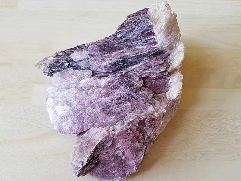 Lepidolite Mica approx size 110 x 100 mm Being a natural product this crystal may have natural blemishes. www.naturalhealingshop.co.uk based in Nuneaton for crystals, spiritual healing, meditation, relaxation, spiritual development,workshops.