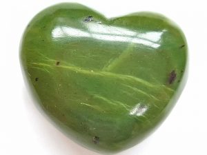 Highly polished Jade Heart approx 45 mm. These hearts are perfect for a gift! There are purple velvet pouches or organza bags you can purchase to pop them into for the finishing touch. Being a natural product these stones may have natural blemishes and vary in colour and banding. www.naturalhealingshop.co.uk based in Nuneaton for crystals, spiritual healing, meditation, relaxation, spiritual development,workshops.