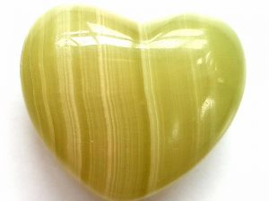 Highly polished Onyx Heart approx 45 mm. These hearts are perfect for a gift! There are purple velvet pouches or organza bags you can purchase to pop them into for the finishing touch. Being a natural product these stones may have natural blemishes and vary in colour and banding. www.naturalhealingshop.co.uk based in Nuneaton for crystals, spiritual healing, meditation, relaxation, spiritual development,workshops.