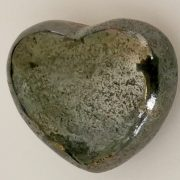 Highly polished Bornite Heart approx 45 mm. These hearts are perfect for a gift! There are purple velvet pouches or organza bags you can purchase to pop them into for the finishing touch. Being a natural product these stones may have natural blemishes and vary in colour and banding. www.naturalhealingshop.co.uk based in Nuneaton for crystals, spiritual healing, meditation, relaxation, spiritual development,workshops.