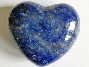 Highly polished Blue Quartz Heart approx 45 mm. These hearts are perfect for a gift! There are purple velvet pouches or organza bags you can purchase to pop them into for the finishing touch. Being a natural product these stones may have natural blemishes and vary in colour and banding. www.naturalhealingshop.co.uk based in Nuneaton for crystals, spiritual healing, meditation, relaxation, spiritual development,workshops.