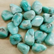 Highly polished Amazonite tumble stone size 25 to 30 mm. Being a natural product this crystal may have natural blemishes and vary in colour. www.naturalhealingshop.co.uk based in Nuneaton for crystals, spiritual healing, meditation, relaxation, spiritual development,workshops.