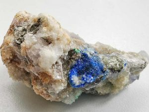 Linarite approx size 50 x 20 mm www.naturalhealingshop.co.uk based in Nuneaton for crystals, spiritual healing, meditation, relaxation, spiritual development,workshops.