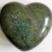 Highly polished Serpentine Heart approx 45 mm. These hearts are perfect for a gift! There are purple velvet pouches or organza bags you can purchase to pop them into for the finishing touch. Being a natural product these stones may have natural blemishes and vary in colour and banding. www.naturalhealingshop.co.uk based in Nuneaton for crystals, spiritual healing, meditation, relaxation, spiritual development,workshops.