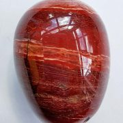 Highly polished Snakeskin Jasper egg approximate height 45 mm. Beautiful to collect or hold and meditate with. Being a natural product these stones may have natural blemishes and vary in colour and banding. www.naturalhealingshop.co.uk based in Nuneaton for crystals, spiritual healing, meditation, relaxation, spiritual development,workshops.