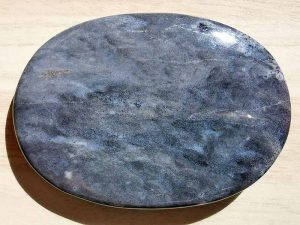Highly polished Merlinite palm stone 70 x 40 mm. The palm stones are made from the best grade rough materials to produce a well finished, highly polished product. Used by crystal healers and general therapists for massage and similar treatments. Also perfect for collectors. Being a natural product these stones may have natural blemishes and vary in colour and banding. www.naturalhealingshop.co.uk based in Nuneaton for crystals, spiritual healing, meditation, relaxation, spiritual development,workshops.